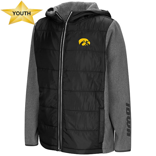 Iowa Hawkeyes Youth Murphy Jacket