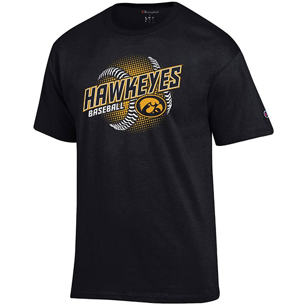 Iowa Hawkeyes Baseball Seams Tee - Short Sleeve