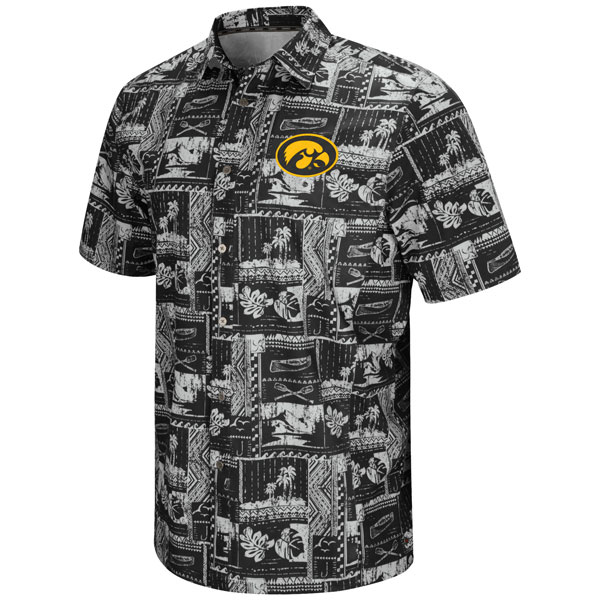 Iowa Hawkeyes Swerve Camp Shirt