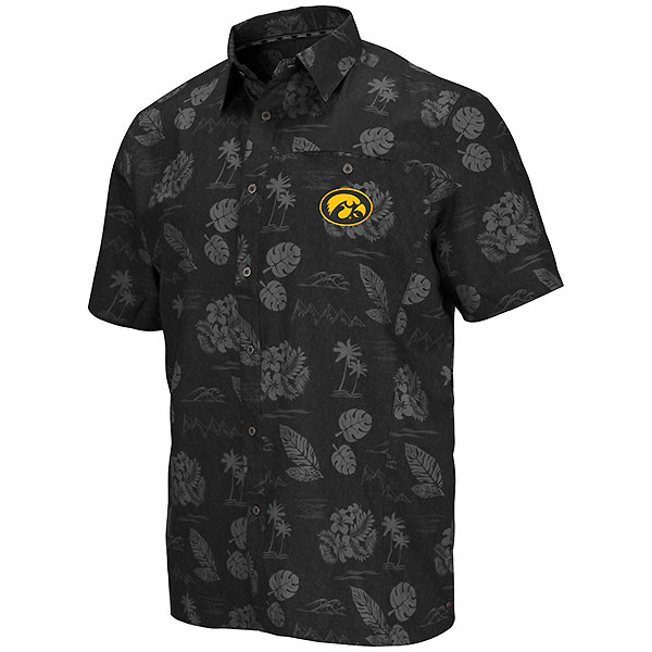 Iowa Hawkeyes Honalulu Camp Shirt