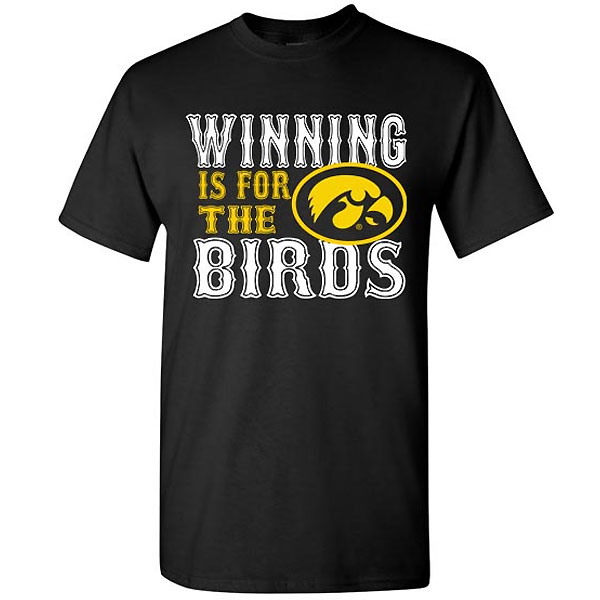 Iowa Hawkeyes Winning for the Birds Tee