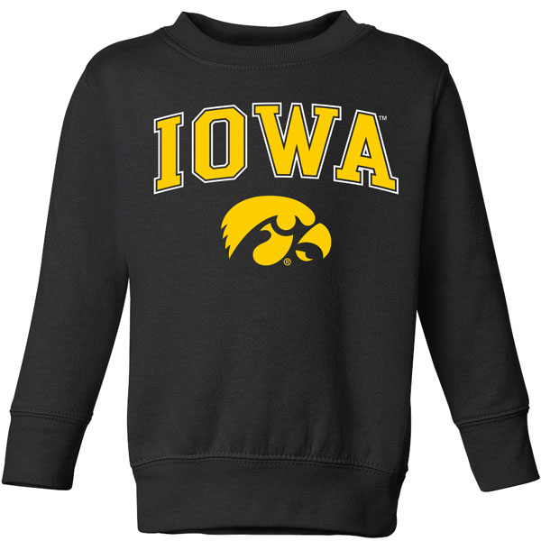 Iowa Hawkeyes Toddler Vertical Arch Sweat