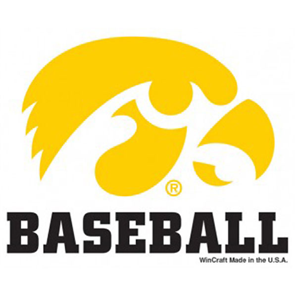 Iowa Hawkeyes Baseball Decal