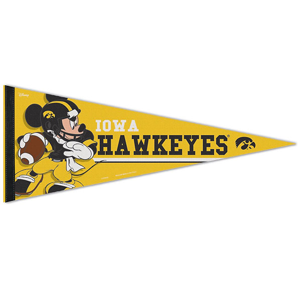 Iowa Hawkeyes Disney Pennant