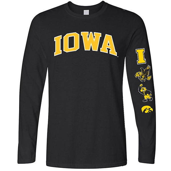 Iowa Hawkeyes Evolution L/S Tee