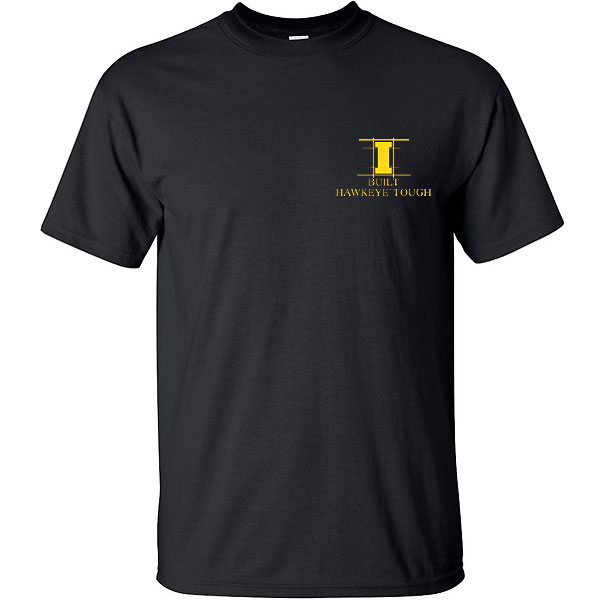 Iowa Hawkeyes Football Blueprint Tee