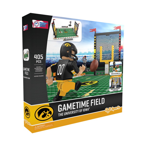 Iowa Hawkeyes Field Set