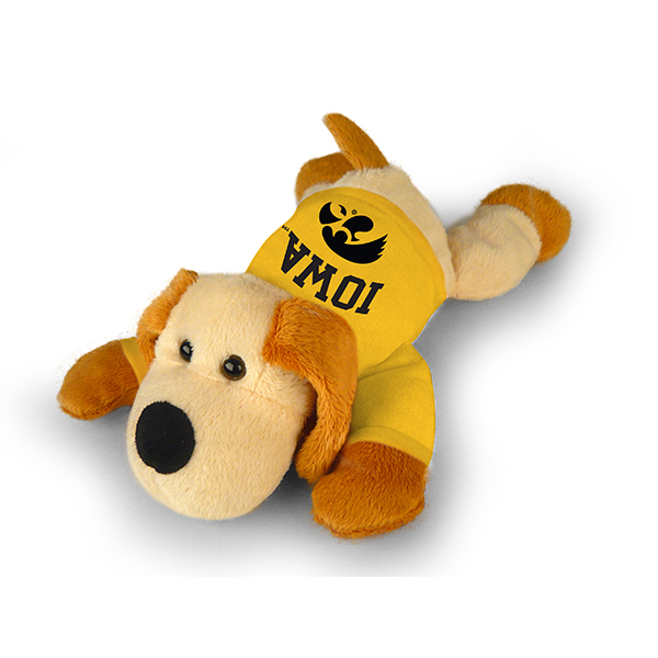 Iowa Hawkeyes Floppy Dog Plush