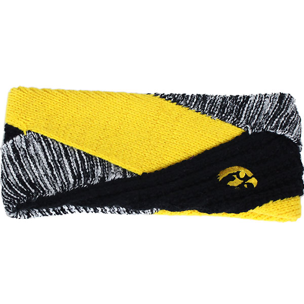 Iowa Hawkeyes Criss Cross Headband