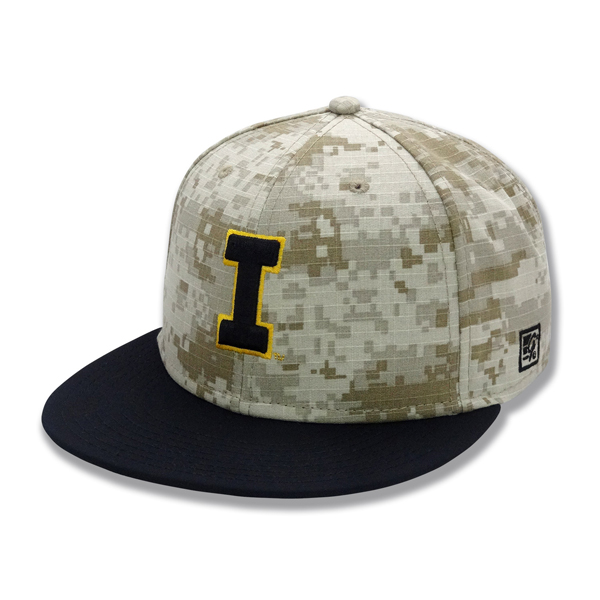 Iowa Hawkeyes Digital Camo Fitted Cap