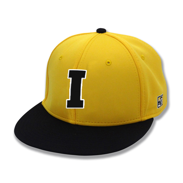 "Iowa Hawkeyes ""I"" Gold Fitted Cap"