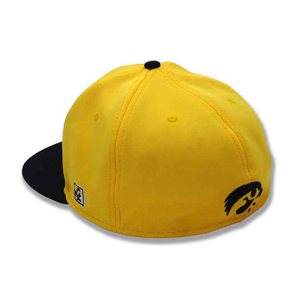 Iowa Hawkeyes Baseball Script Stretch Hat