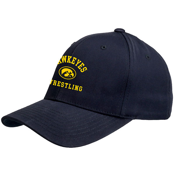 Iowa Hawkeyes Wrestling Black Hat