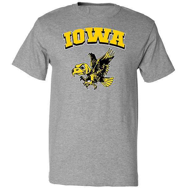 Iowa Hawkeyes Flying Hawk Tee