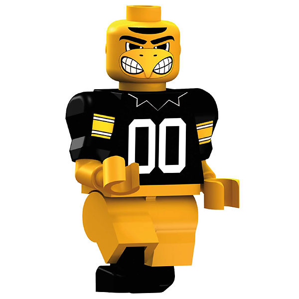 Iowa Hawkeyes Herky the Hawk