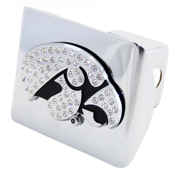 Iowa Hawkeyes Bling Hitch Cover