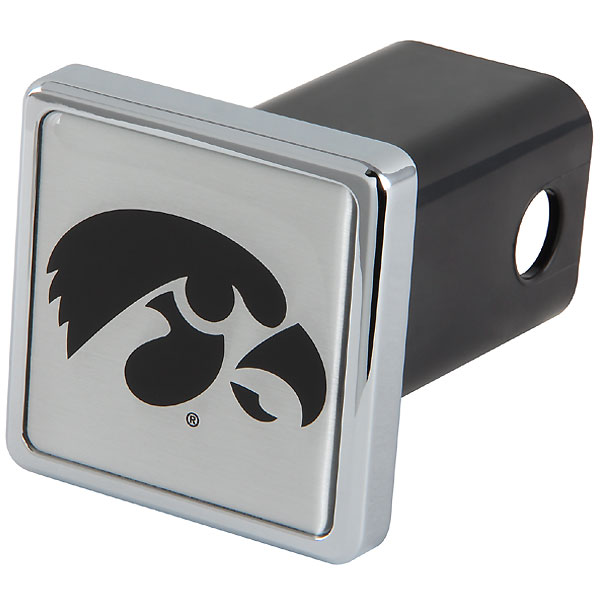 Iowa Hawkeyes Chrome Hitch Cover
