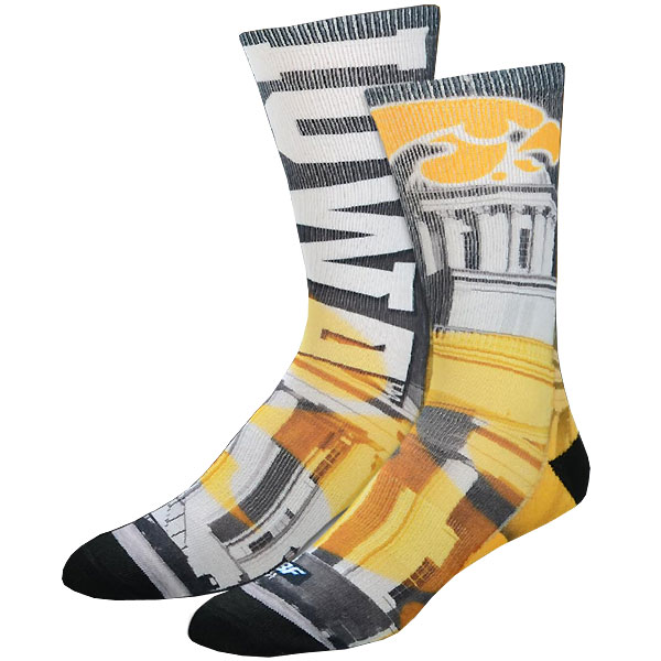 Iowa Hawkeyes Hometown Socks