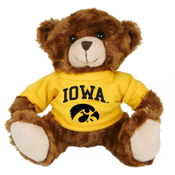 Iowa Hawkeyes T-shirt Bear