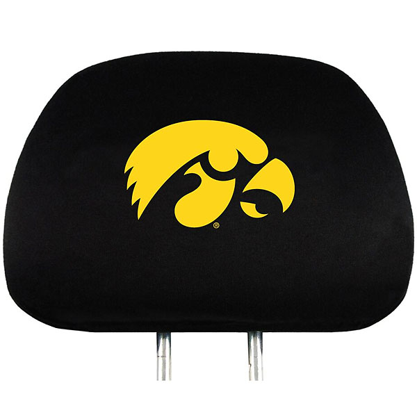 Iowa Hawkeyes Auto Head Rest Cover