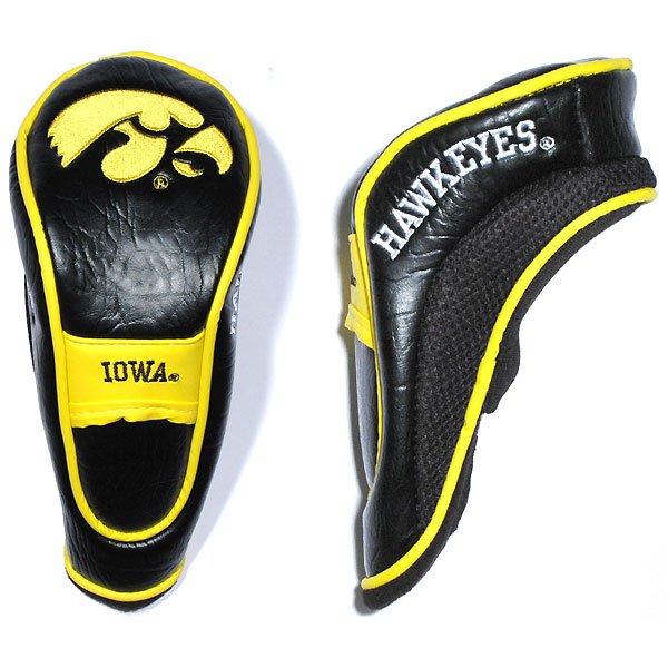 Iowa Hawkeyes Golf Hybrid Head Cover