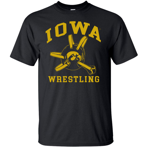 Iowa Hawkeyes Headgear Tee