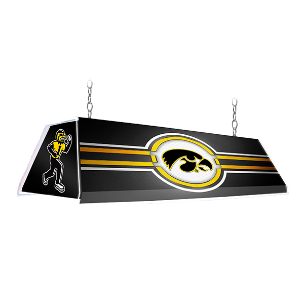 Iowa Hawkeyes Edge Glow Pool Table Light