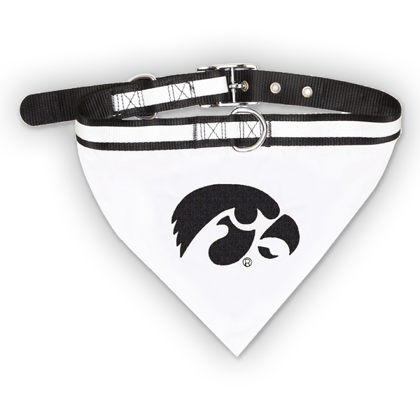 Iowa Hawkeyes Bandana Pet Collar