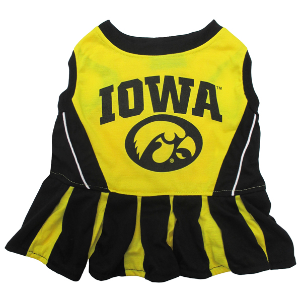 Iowa Hawkeyes Pet Cheerleader Outfit