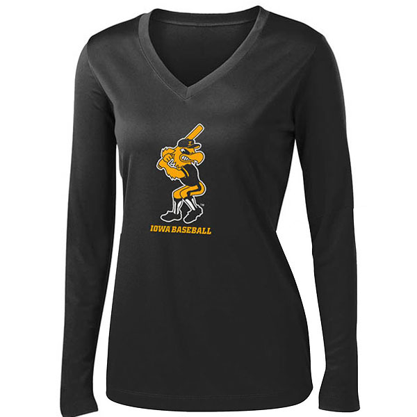 Iowa Hawkeyes Women's Herky Batter Performance Tee
