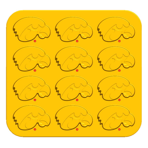 Iowa Hawkeyes Ice Tray