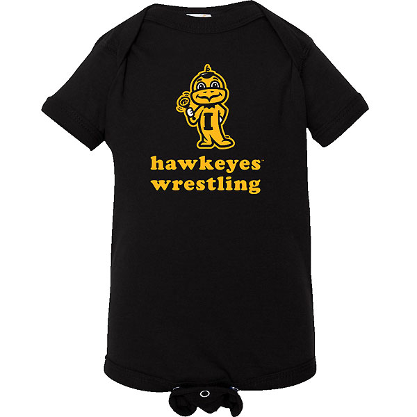 Iowa Hawkeyes Infant Wrestling Onsie
