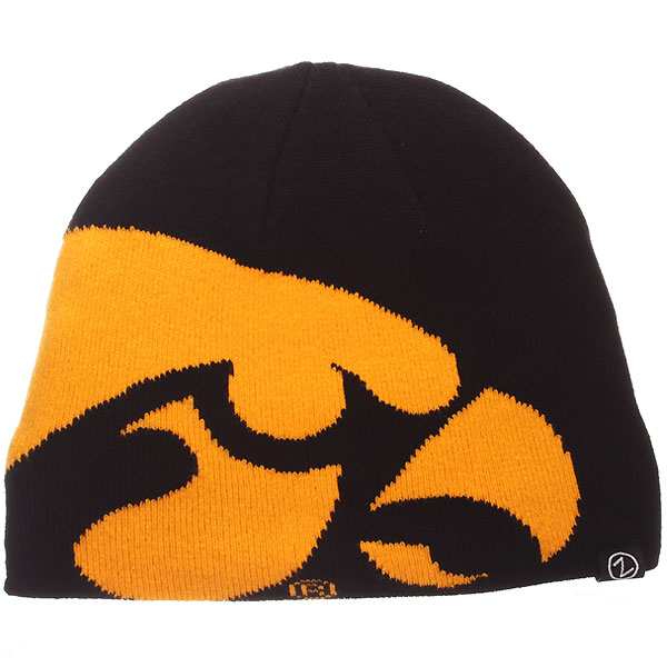 Iowa Hawkeyes Youth Peek Stocking Cap