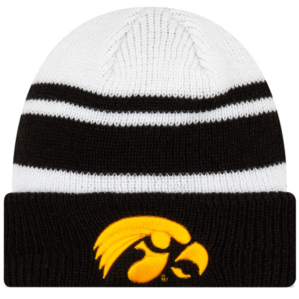 Iowa Hawkeyes Knit Cozy Hat
