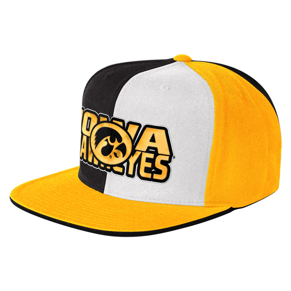 Iowa Hawkeyes Knock Out Snapback Hat