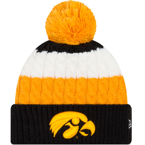 Iowa Hawkeyes Women's Layered Up Knit Hat