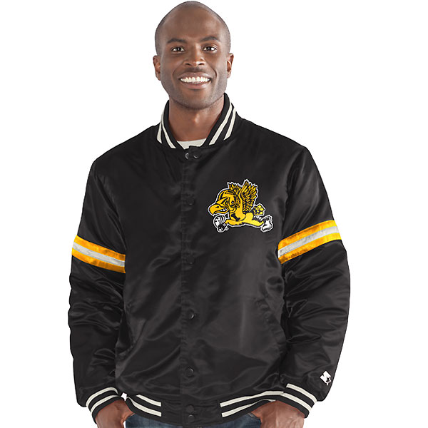 Iowa Hawkeyes Nylon Satin Twill Jacket