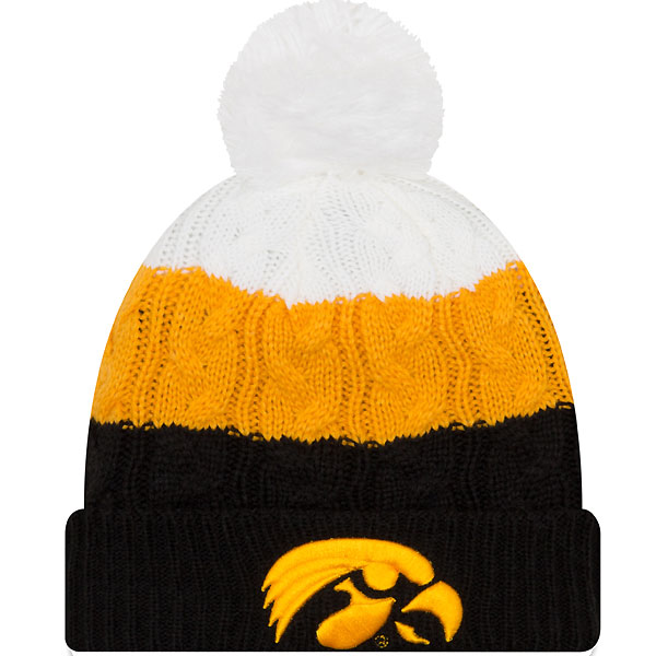 Iowa Hawkeyes Women's Layered Up 2 Knit Hat