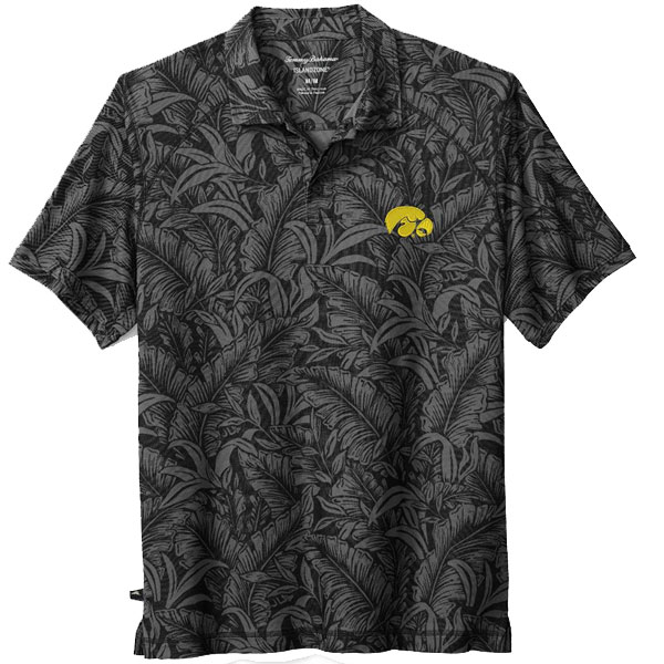 Iowa Hawkeyes Leafbacker Polo