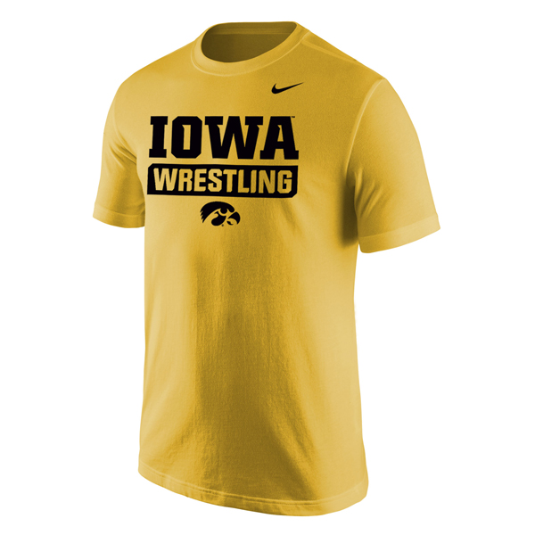 Iowa Hawkeyes Wrestling Core Tee