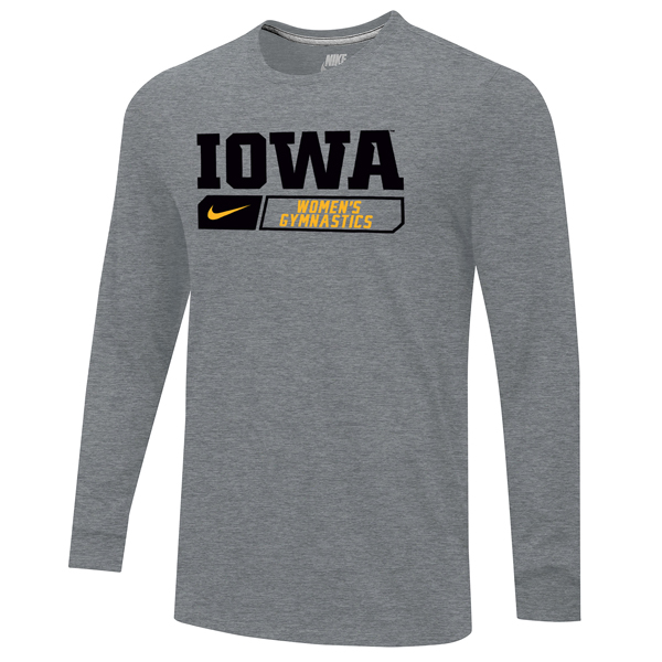 Iowa Hawkeyes Women's Gymnastics Long Sleeve Tee