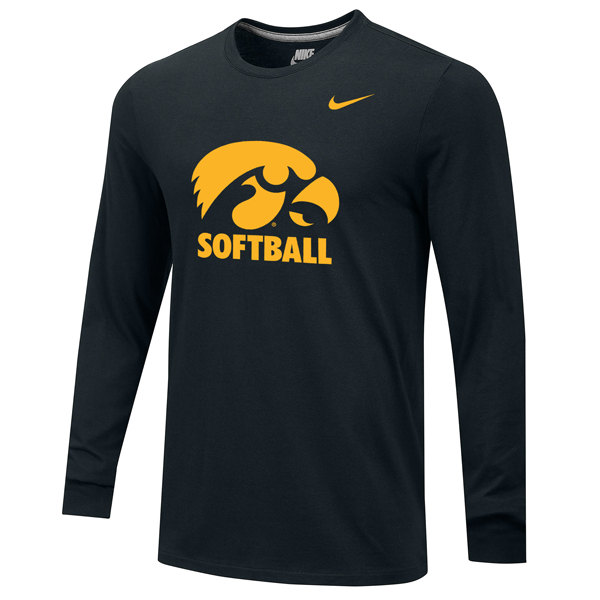 Iowa Hawkeyes Softball Long Sleeve Tee
