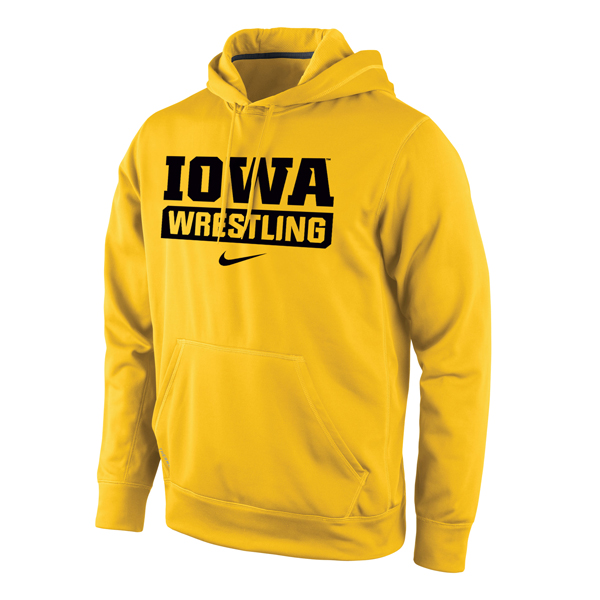 Iowa Hawkeyes Wrestling Therma-Fit Hoodie