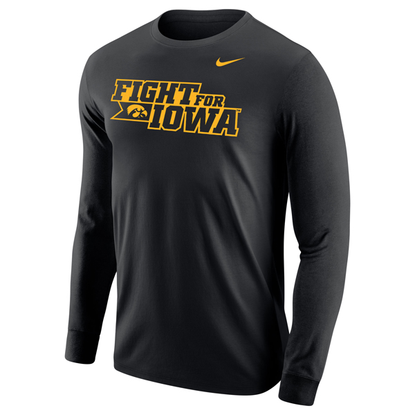Iowa Hawkeyes Fight for Iowa Long SleeveTee