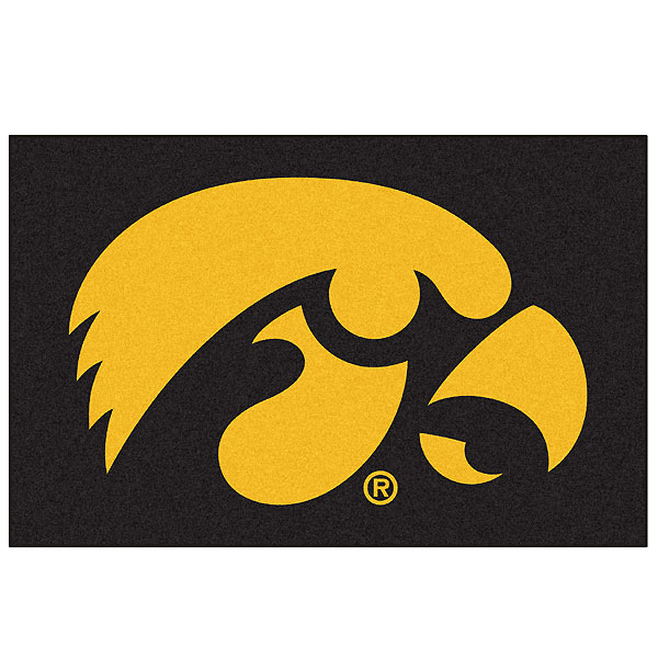 Iowa Hawkeyes Starter Fan Mat