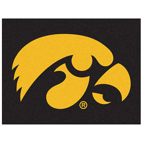 Iowa Hawkeyes All Star Mat