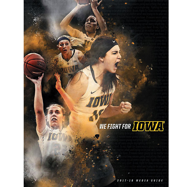 Iowa Hawkeyes Women's 2017 Basketball Media Guide