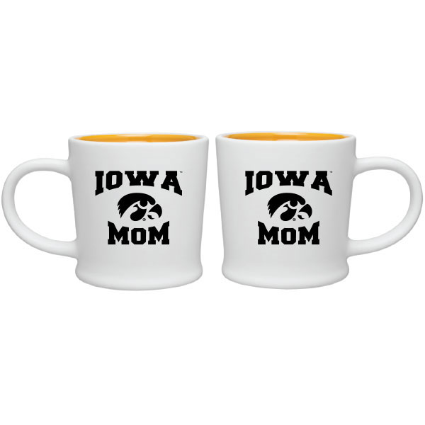 Iowa Hawkeyes Mom Coffee Cup