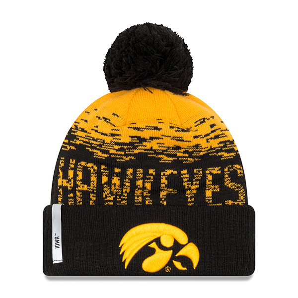 Iowa Hawkeyes Youth Sport Flect Stocking Hat