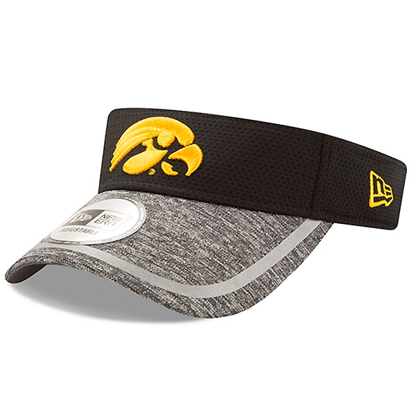Iowa Hawkeyes Adjustable Training Visor